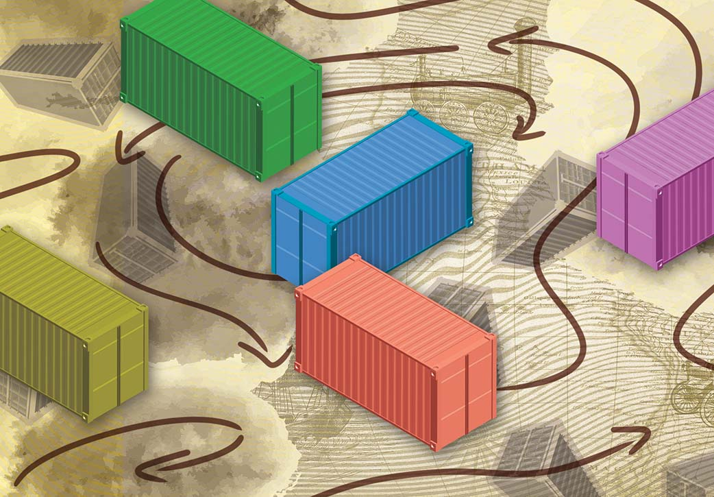 Beyond the Box: The Politics and Aesthetics of Flow in the Logistics Revolution