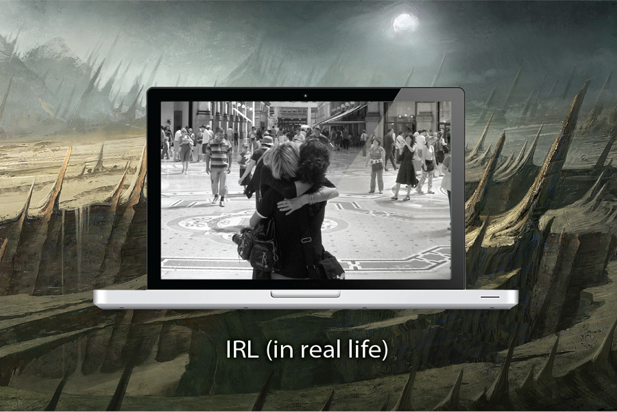 IRL (in real life)
