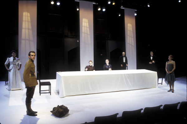 The Long Christmas Dinner, Theater - Wesleyan University